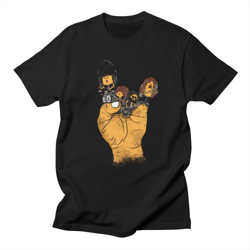 Metalism Men's T-shirt by osano's Artist Shop