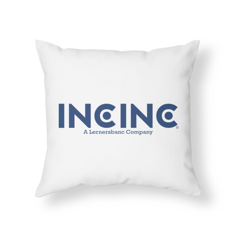 incinc logo Home Throw Pillow by OFL BDTS Shop