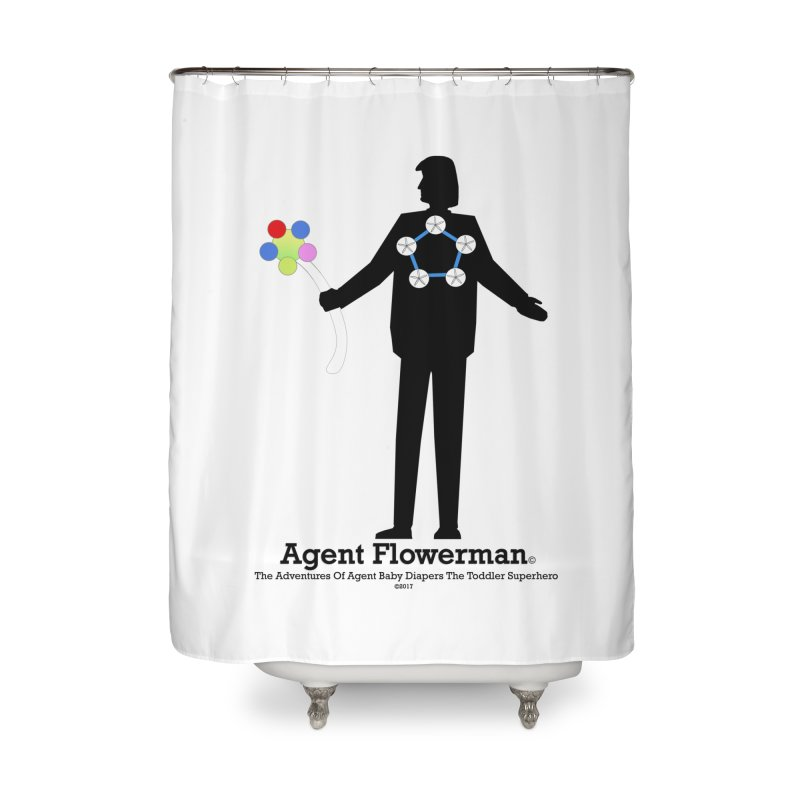 Agent Flowerman Home Shower Curtain by OFL BDTS Shop