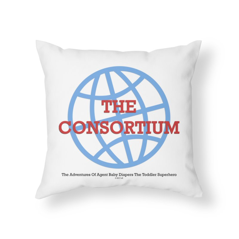 The Consortium Logo Home Throw Pillow by OFL BDTS Shop