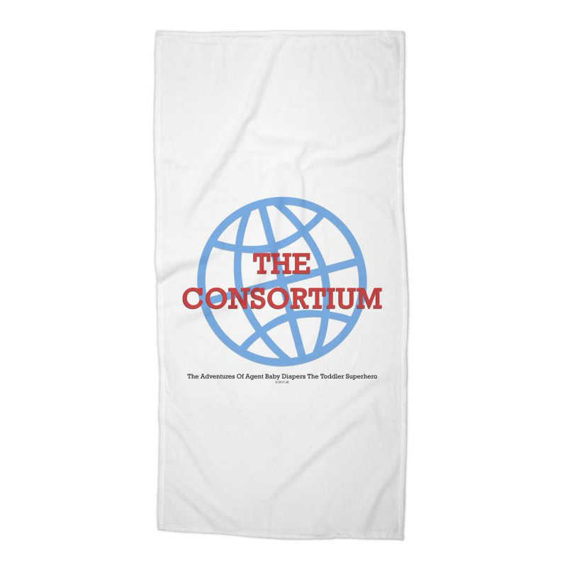 The Consortium Logo Accessories Beach Towel by OFL BDTS Shop