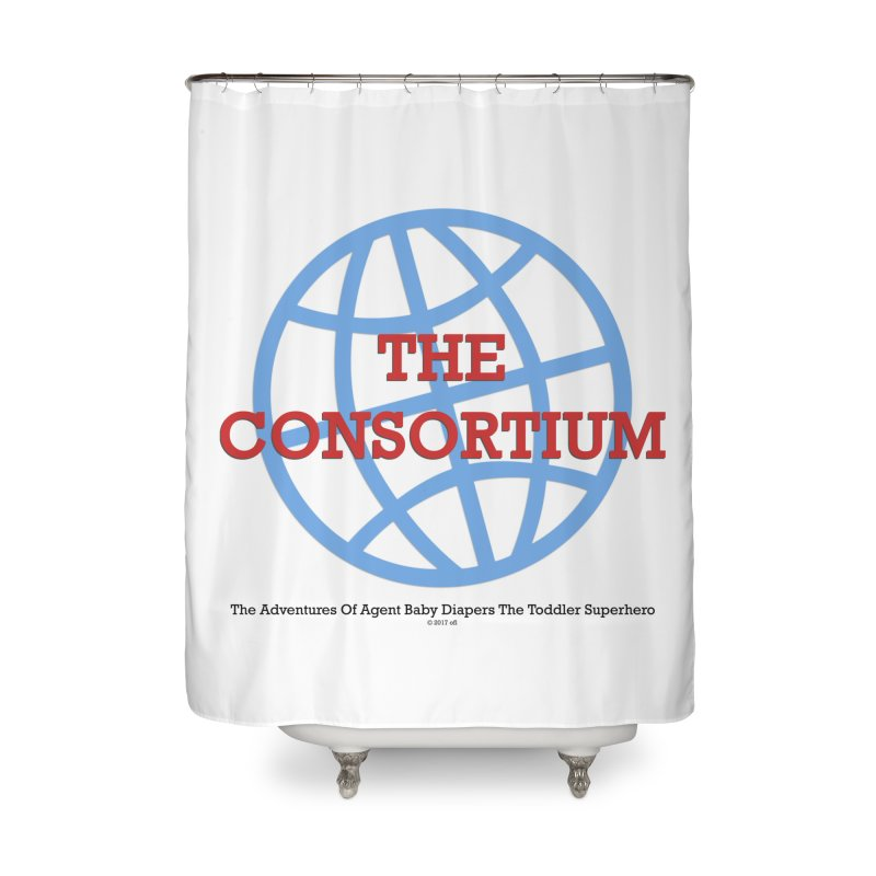 The Consortium Logo Home Shower Curtain by OFL BDTS Shop
