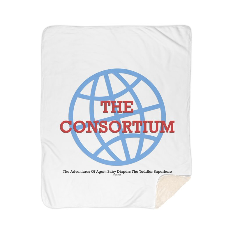 The Consortium Logo Home Blanket by OFL BDTS Shop