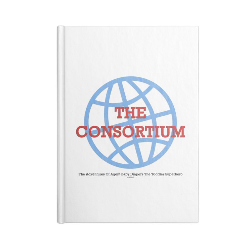 The Consortium Logo Accessories Blank Journal Notebook by OFL BDTS Shop