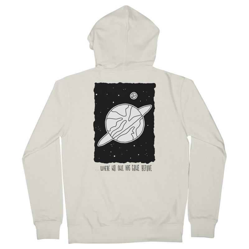 Planet Men's Zip-Up Hoody by Os Frontis