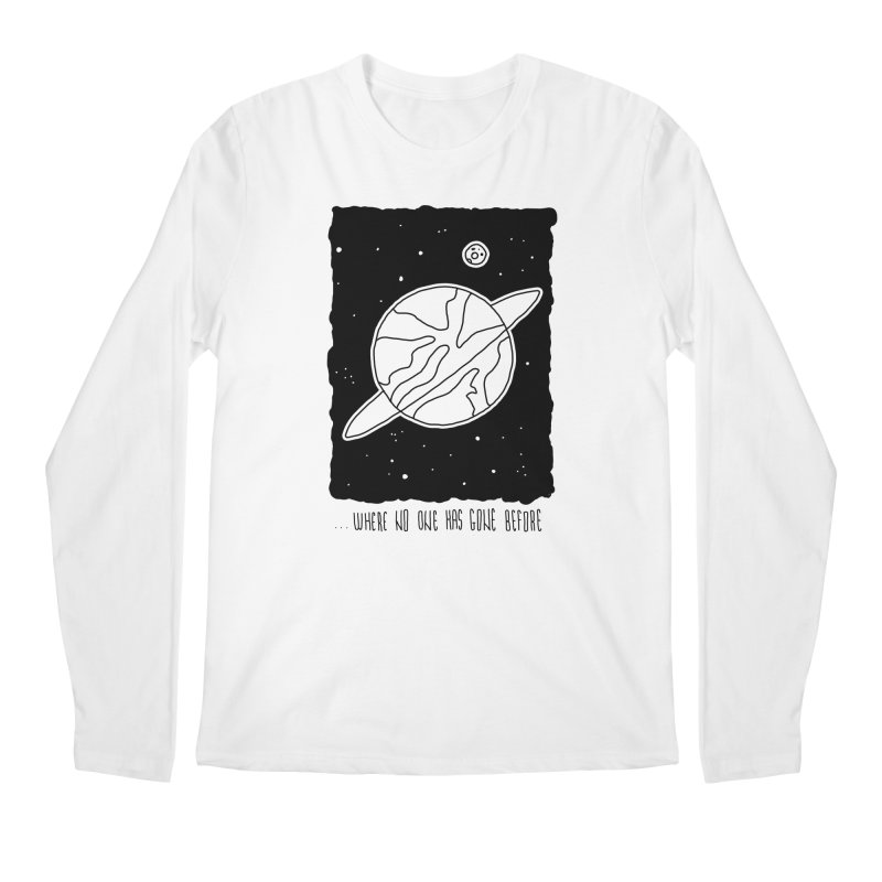 Planet Men's Longsleeve T-Shirt by Os Frontis