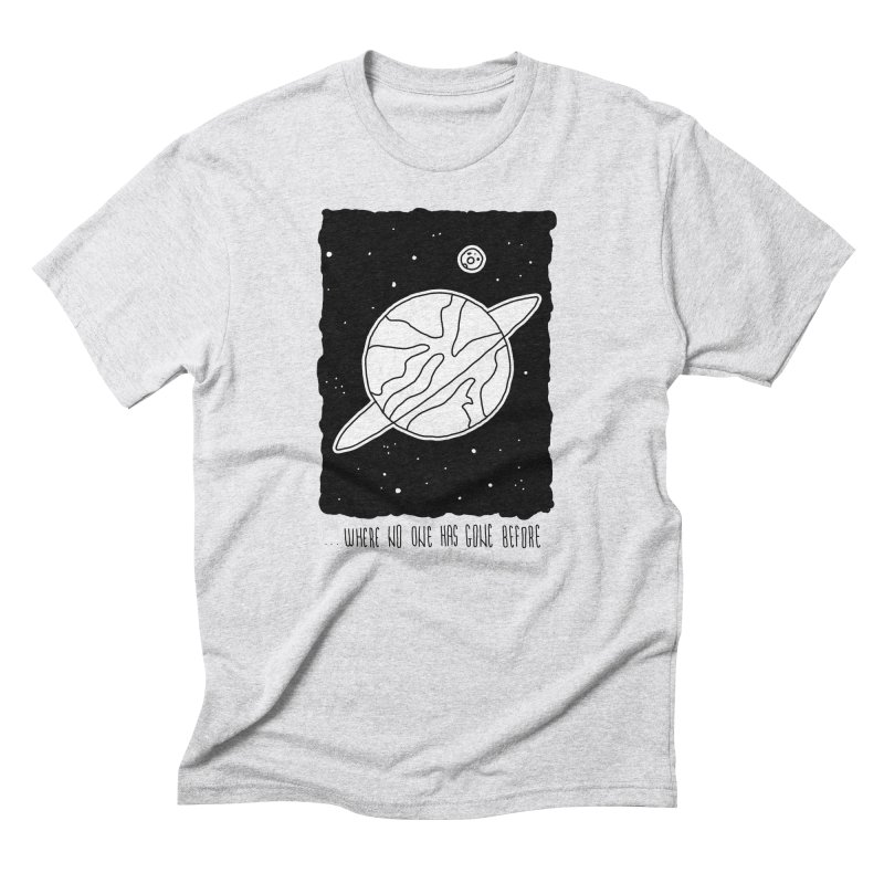 Planet Men's T-Shirt by Os Frontis