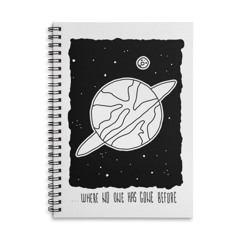 Planet Accessories Notebook by Os Frontis