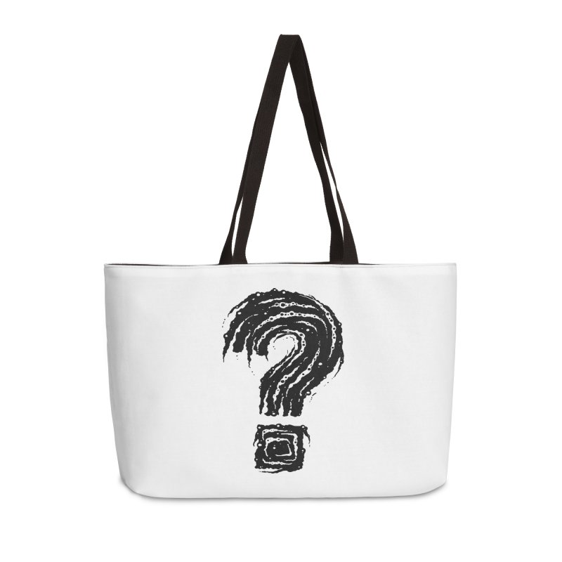 Question Mark Accessories Bag by Os Frontis