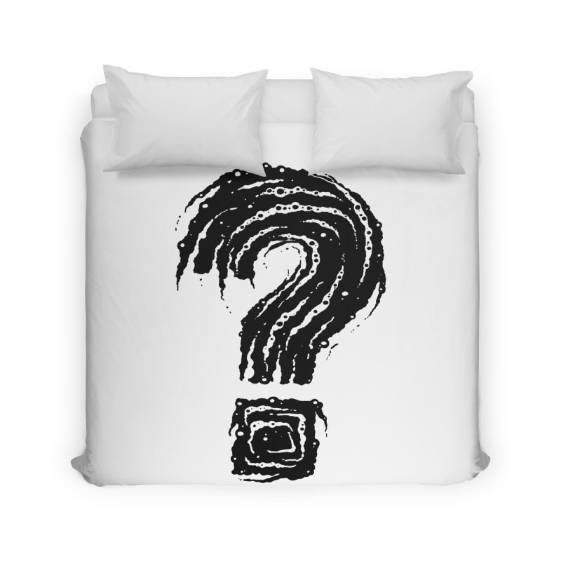 Question Mark Home Duvet by Os Frontis