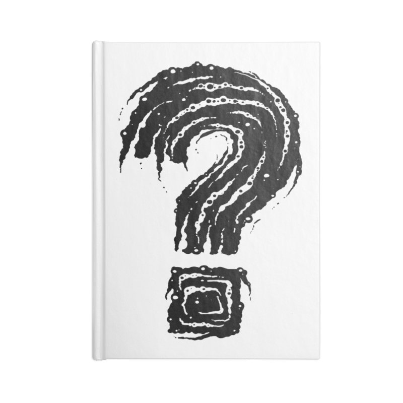 Question Mark Accessories Notebook by Os Frontis