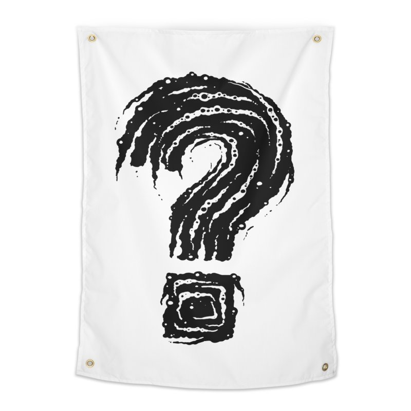 Question Mark Home Tapestry by Os Frontis