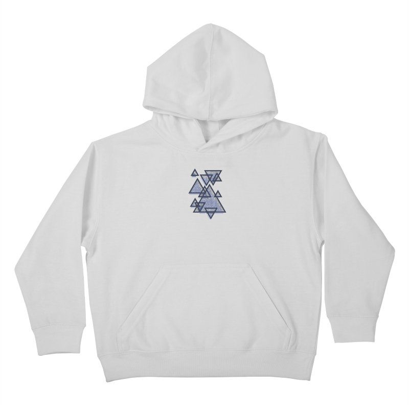 Triangle Pattern Kids Pullover Hoody by Os Frontis