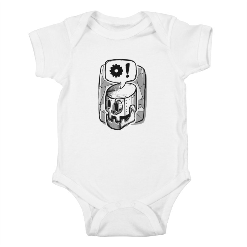 Robot Life Kids Baby Bodysuit by Os Frontis
