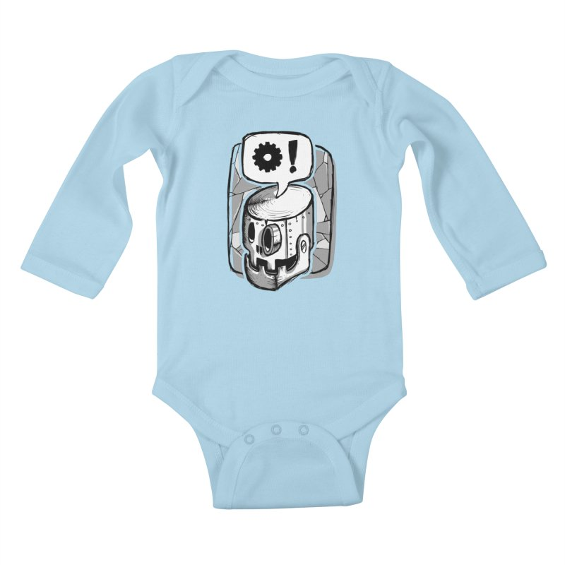 Robot Life Kids Baby Longsleeve Bodysuit by Os Frontis