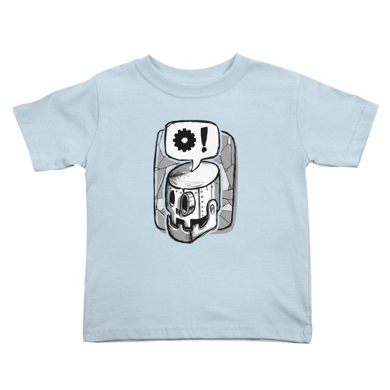 Robot Life Kids Toddler T-Shirt by Os Frontis