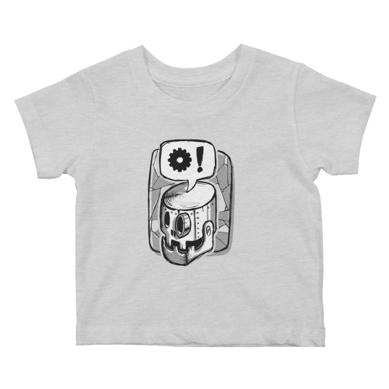 Robot Life Kids Baby T-Shirt by Os Frontis