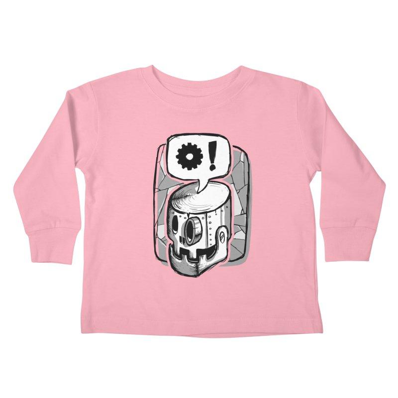 Robot Life Kids Toddler Longsleeve T-Shirt by Os Frontis