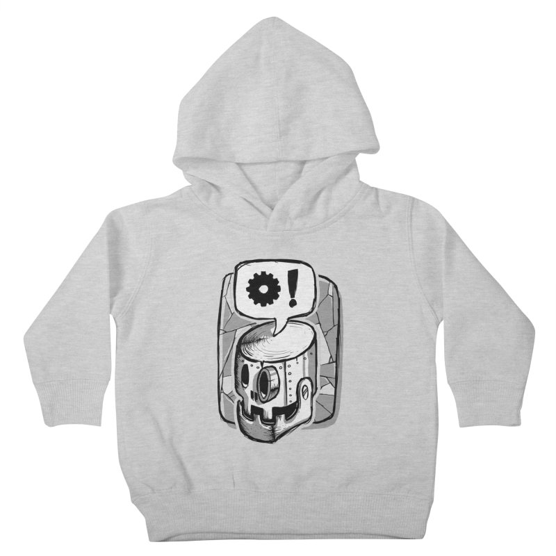 Robot Life Kids Toddler Pullover Hoody by Os Frontis