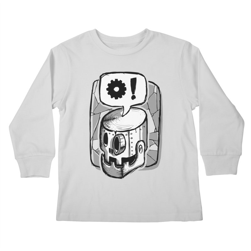 Robot Life Kids Longsleeve T-Shirt by Os Frontis
