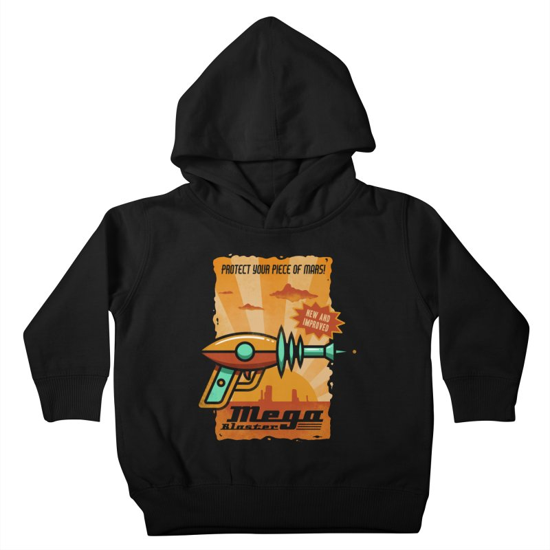 Mega blaster Kids Toddler Pullover Hoody by Os Frontis