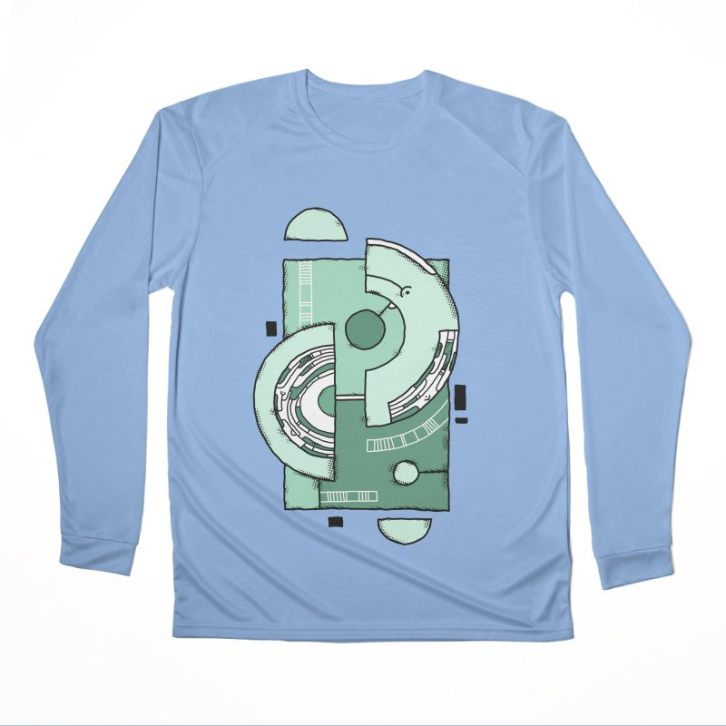 Geometric Abstraction Men's Longsleeve T-Shirt by Os Frontis