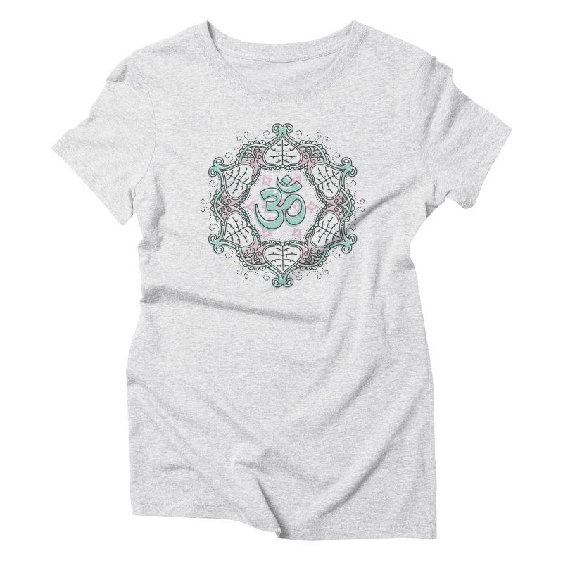 Om Mandala Women's T-Shirt by Os Frontis