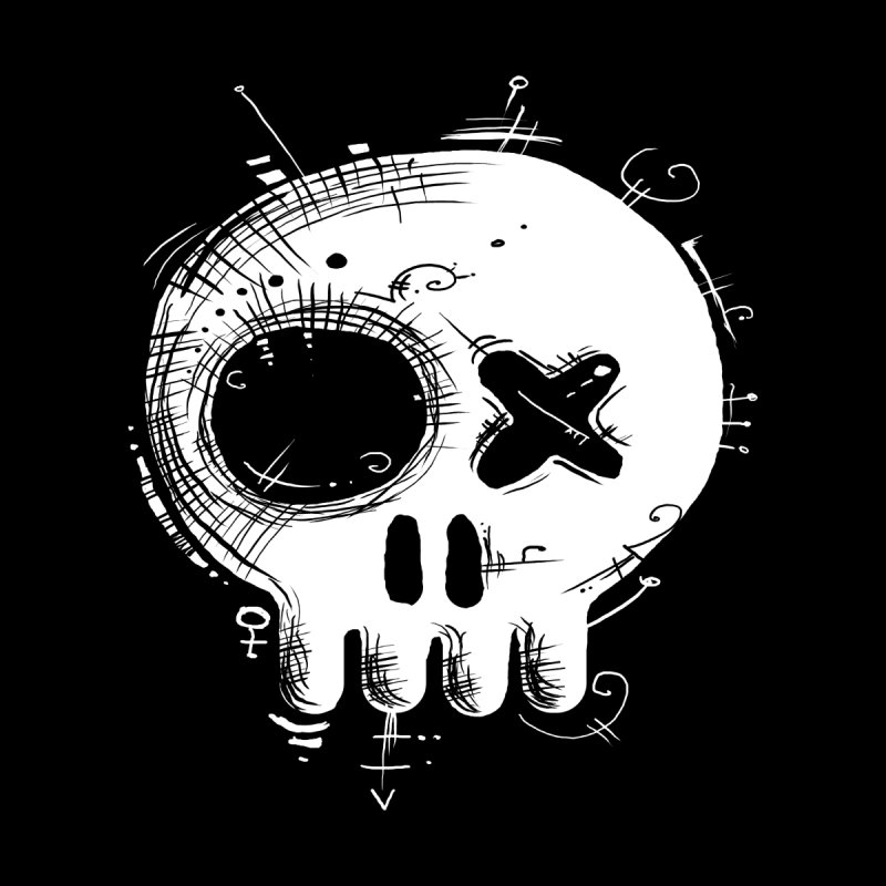 Voodoo Skull by Os Frontis