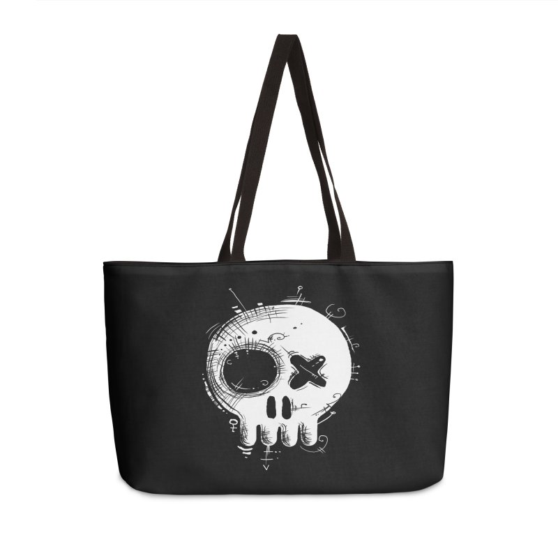 Voodoo Skull Accessories Bag by Os Frontis