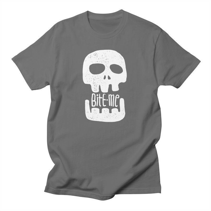 Bite me Men's T-Shirt by Os Frontis