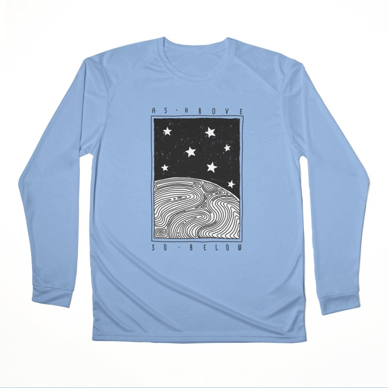 As above so below Men's Longsleeve T-Shirt by Os Frontis