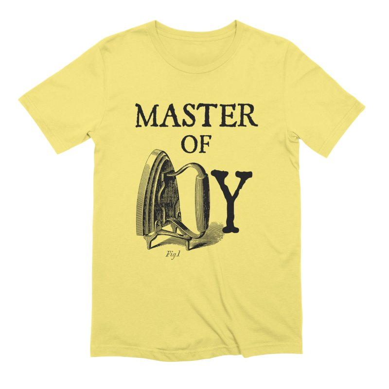 Master of irony Men's T-Shirt by Os Frontis