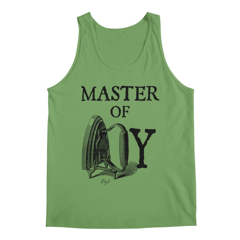 Master of irony Men's Tank by Os Frontis