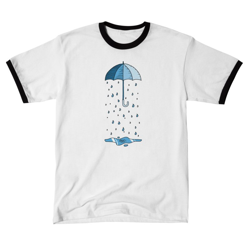 Raining Umbrella Women's T-Shirt by Os Frontis