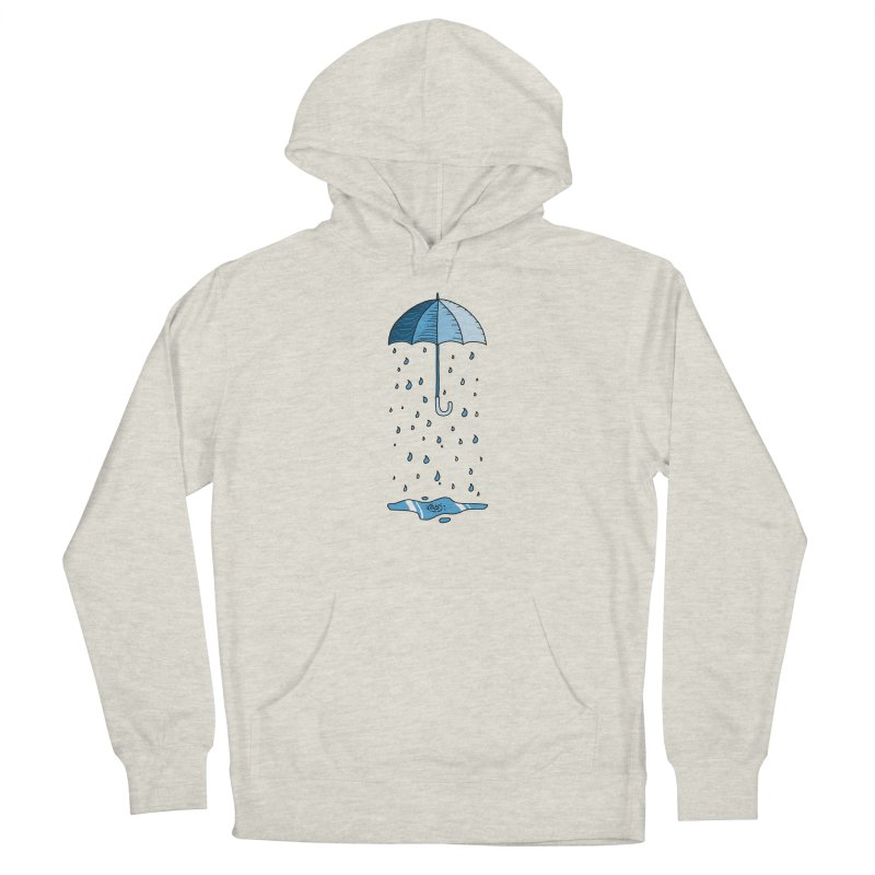 Raining Umbrella Men's Pullover Hoody by Os Frontis