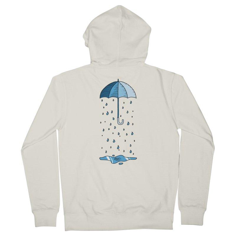 Raining Umbrella Women's Zip-Up Hoody by Os Frontis