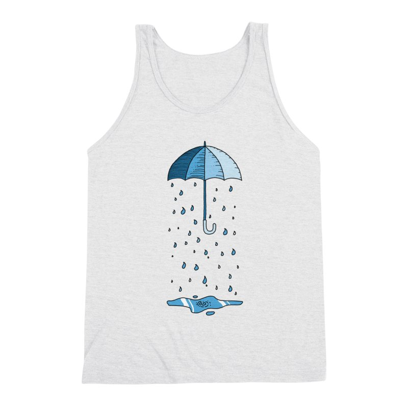 Raining Umbrella Men's Tank by Os Frontis