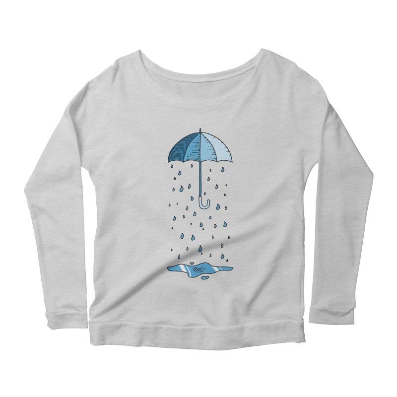 Raining Umbrella Women's Longsleeve T-Shirt by Os Frontis