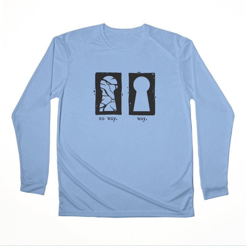 Way/No way Men's Longsleeve T-Shirt by Os Frontis