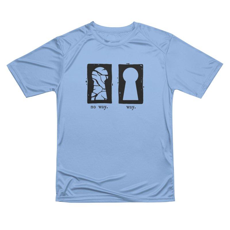 Way/No way Men's T-Shirt by Os Frontis