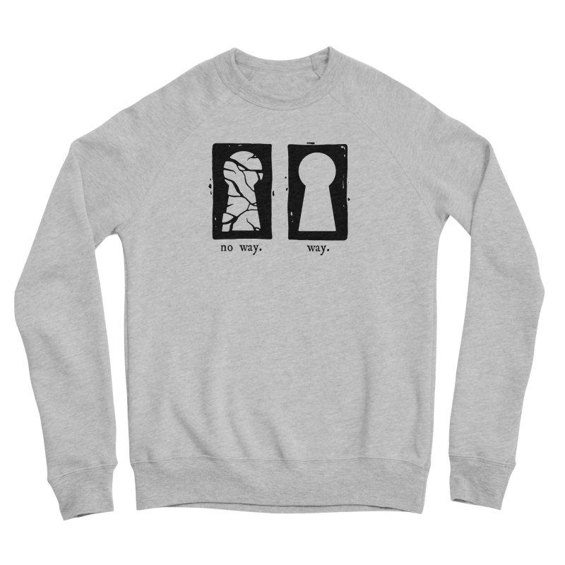 Way/No way Men's Sweatshirt by Os Frontis