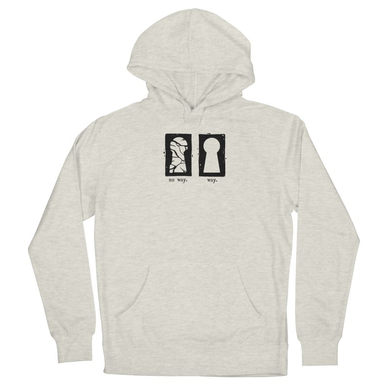 Way/No way Women's Pullover Hoody by Os Frontis