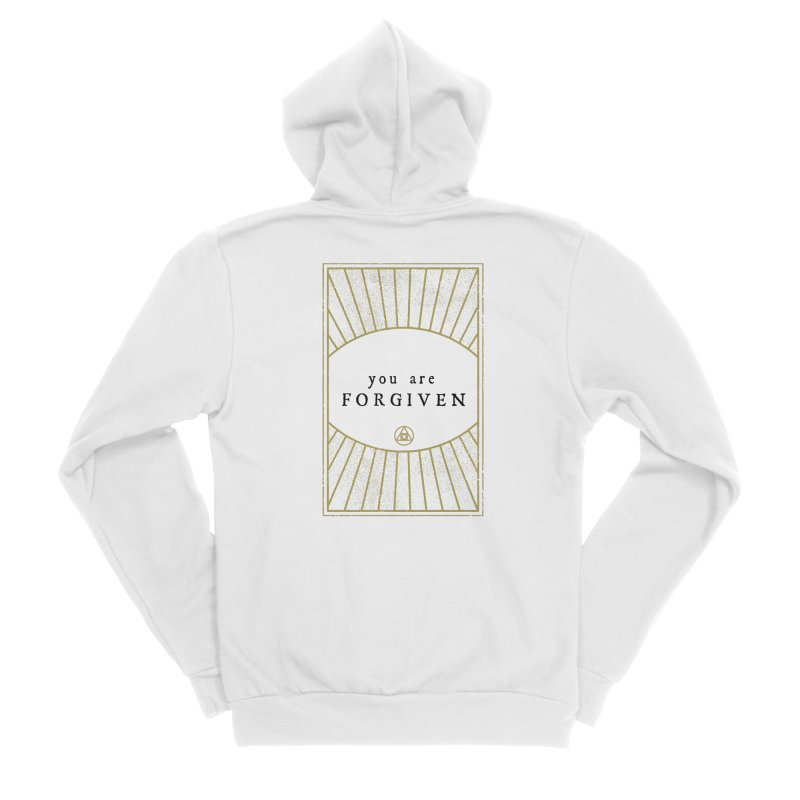 You are forgiven Men's Zip-Up Hoody by Os Frontis