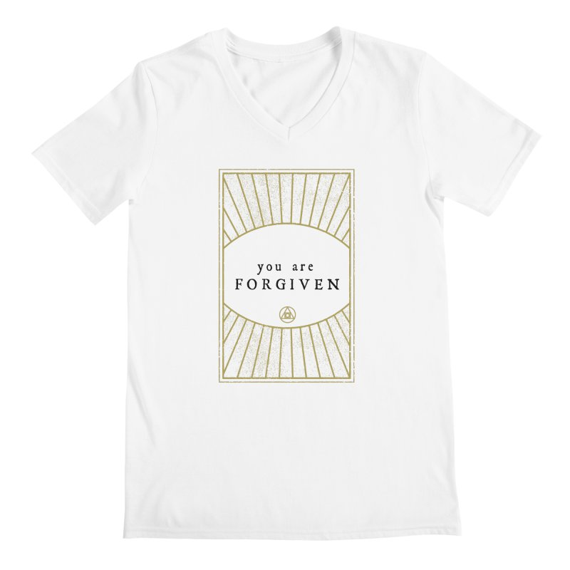 You are forgiven Men's V-Neck by Os Frontis