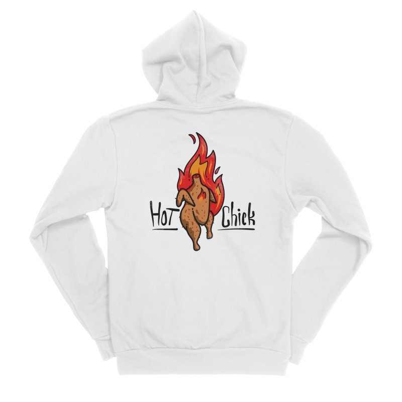 Hot Chick Women's Zip-Up Hoody by Os Frontis