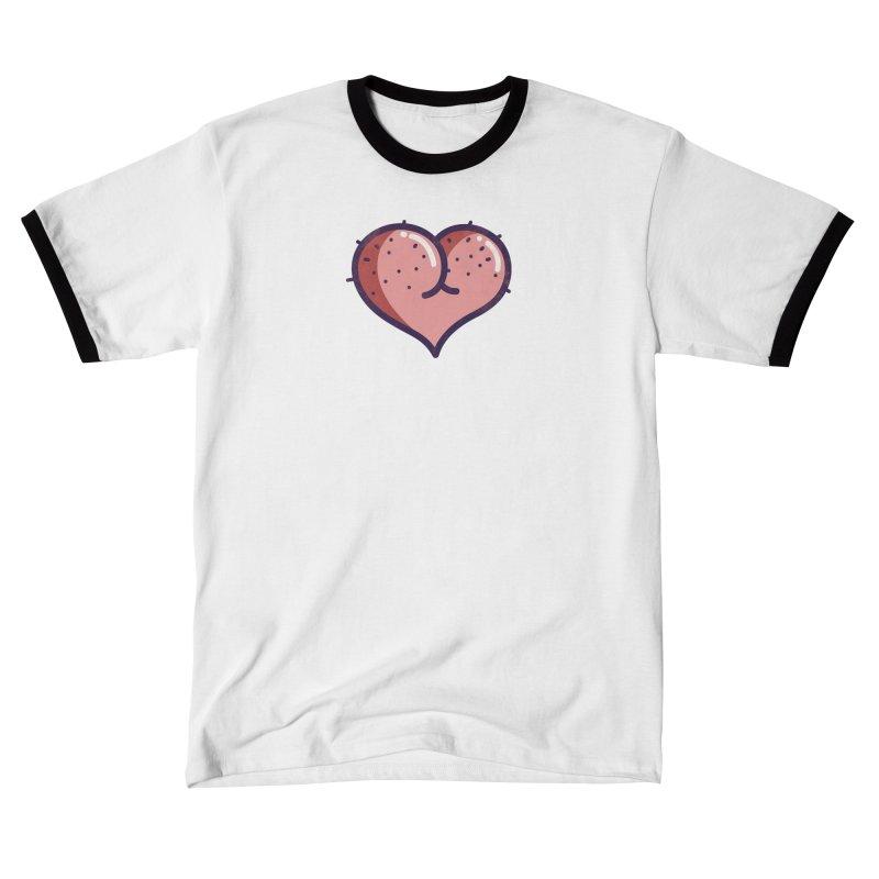 Ass Heart Men's T-Shirt by Os Frontis