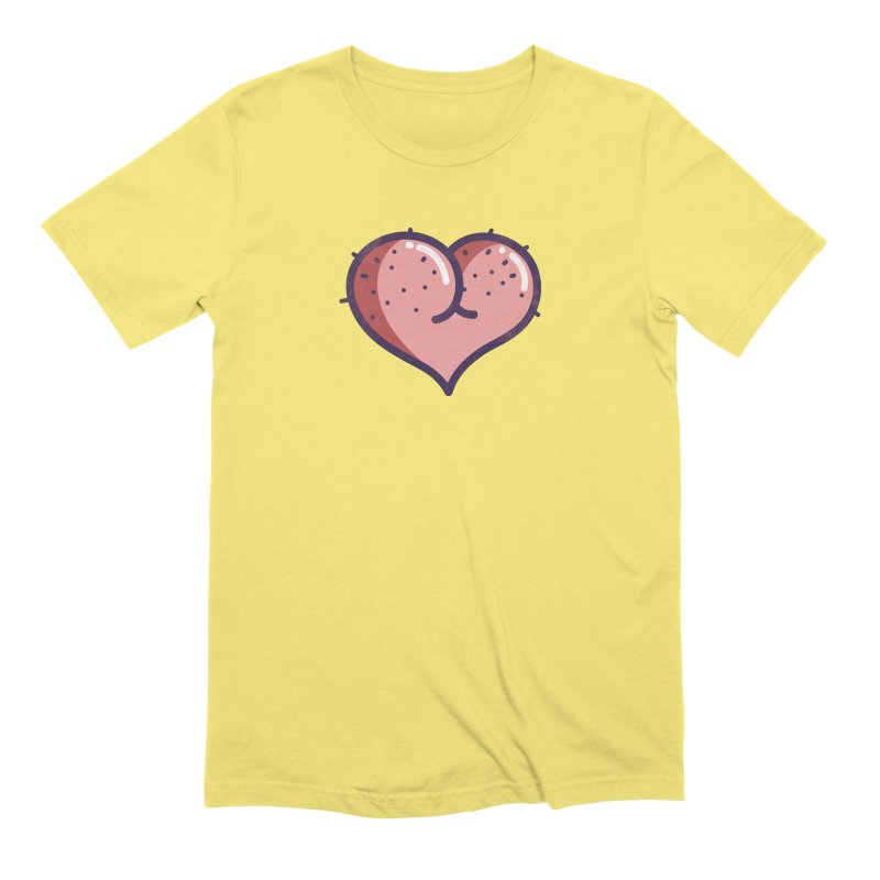 Ass Heart Men's T-Shirt by Os Frontis