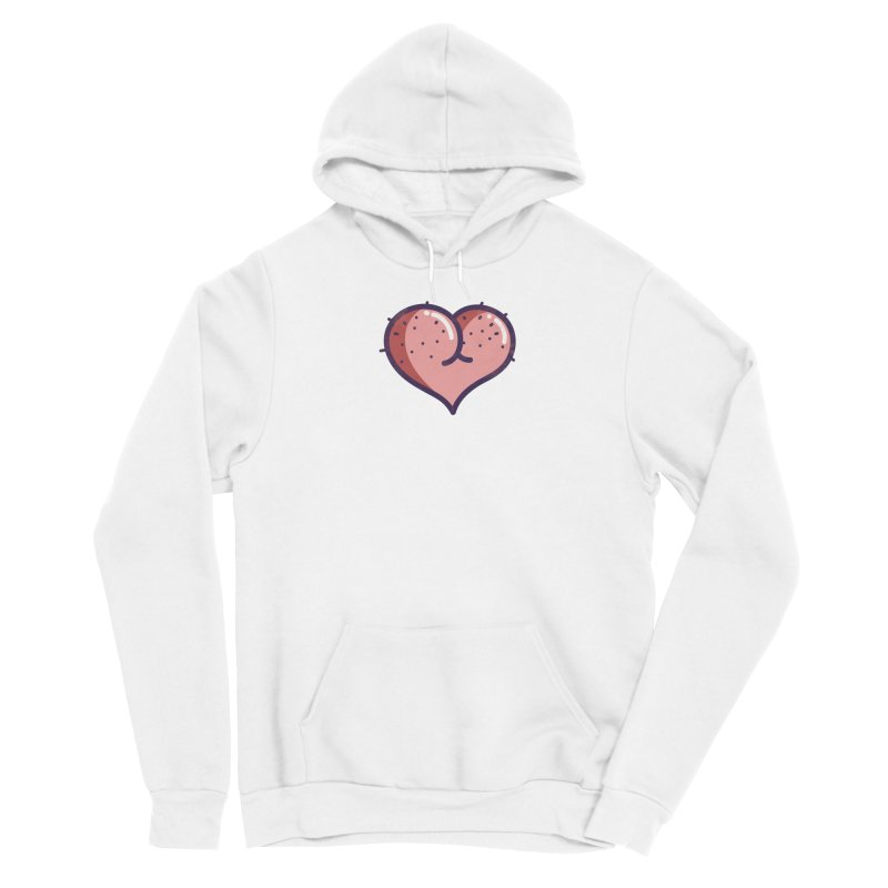 Ass Heart Women's Pullover Hoody by Os Frontis