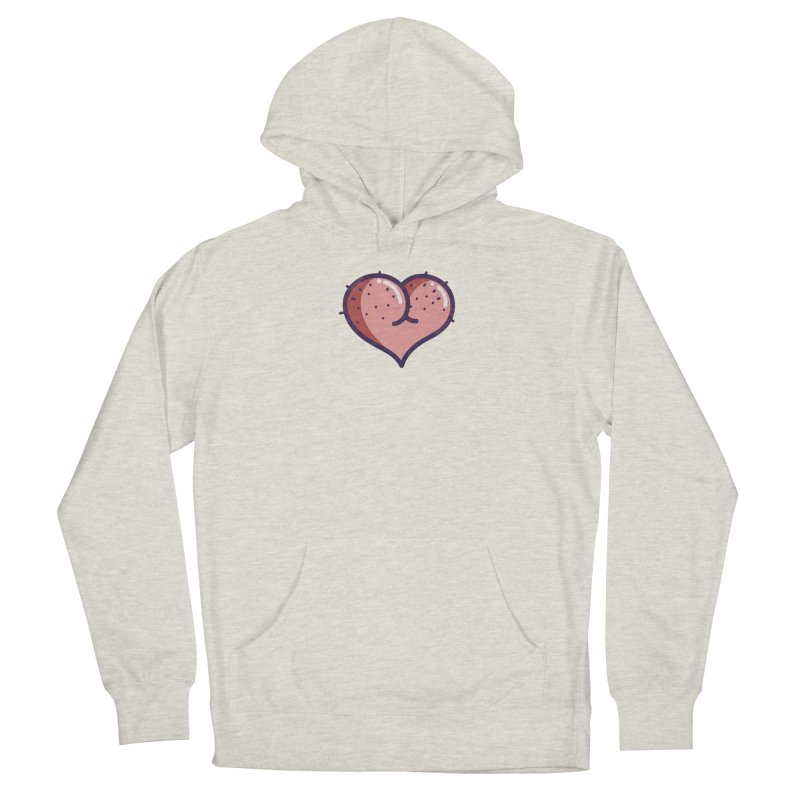 Ass Heart Men's Pullover Hoody by Os Frontis