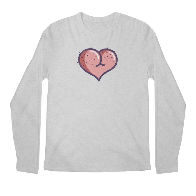 Ass Heart Men's Longsleeve T-Shirt by Os Frontis